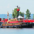 Stock Photo: Tugboat Franklin Reinauer in Erie Basin in Red Hook section of Brooklyn