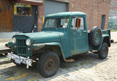 1953 Willys Jeep Truck in Brooklyn — Foto Stock