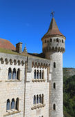 Episcopal palace in Rocamadour, France — Stock Photo