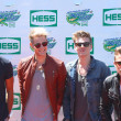 Постер, плакат: British pop rock band Lawson attends the Arthur Ashe Kids Day 2013 at Billie Jean King National Tennis Center