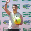 Stock Photo: Americactor, producer, and Nickelodeon game show host Jeff Sutphen attends Arthur Ashe Kids Day 2013