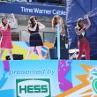 American girl group Fifth Harmony performs at the Arthur Ashe Kids Day 2013 at Billie Jean King National Tennis Center — Stock Photo
