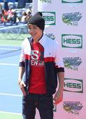 Singer Austin Mahone attends Arthur Ashe Kids Day 2013 at Billie Jean King National Tennis Center — Stock Photo
