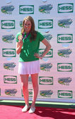 Four-time Olympic gold medalist swimmer Missy Franklin attends Arthur Ashe Kids Day 2013 at Billie Jean King National Tennis Center — Stock Photo