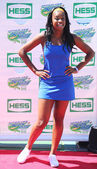 Singer Coco Jones attends Arthur Ashe Kids Day 2013 at Billie Jean King National Tennis Center — Stock Photo