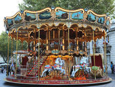 Traditional fairground carousel in Avignon, France — Stock Photo