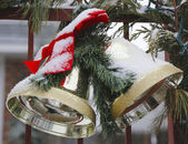 Christmas house decoration — Stockfoto