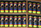 US Open 2013 souvenir Wilson tennis balls — Stock Photo