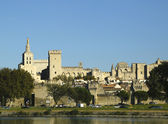 Medieval city and Popes Palace in Avignon, France — Stock Photo