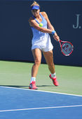 Professional tennis player Sabina Lisicki from Germany practices for US Open 2013 — Stock Photo