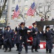 Stock Photo: Salvation Army soldiers perform for collections in midtown Manhattan