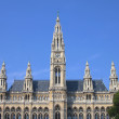 Постер, плакат: Rathaus Town Hall building in Vienna Austria