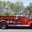 1950 Mack fire truck from Huntington Manor Fire Department at parade in Huntington, New York — Stock Photo #37928705