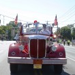 1950 Mack fire truck from Huntington Manor Fire Department at parade in Huntington, New York — Stock Photo #37928737