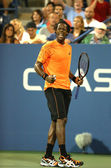 Professional tennis player Gael Monfils during second round match at US Open 2013 against John Isner at Billie Jean King National Tennis Center — Stock Photo