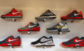 Nike presented new tennis shoes collection during US Open 2013 at Billie Jean King National Tennis Center — Stockfoto