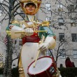 Постер, плакат: Wooden soldier drummer Christmas decoration at the Rockefeller Center in Midtown Manhattan