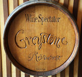 The Wine Spectator Greystone Restaurant at the Culinary Institute of America — Stock Photo
