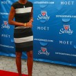 TV anchor Robin Roberts at the red carpet before US Open 2013 opening night ceremony at USTA Billie Jean King National Tennis Center — Stock Photo #38949565