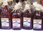 Mamajuana souvenir bottles in Punta Cana, Dominican Republic — Stock Photo