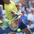 BI6T5770Professional tennis player Ivan Dodig during third round singles match at US Open 2013 — Stock Photo #39079575