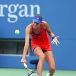 Постер, плакат: Grand Slam champion Ana Ivanovich during third round match at US Open 2013 against Christina McHale at Billie Jean King National Tennis Center