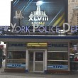 Stock Photo: Famous NYPD Times Square Precinct in Midtown Manhattan
