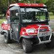 Stock Photo: FDNY Haz-Mat KubotRTV Utility Vehicle near National Tennis Center in New York