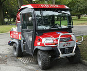 FDNY Haz-Mat Kubota RTV Utility Vehicle near National Tennis Center in New York — Stock Photo
