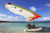 Flying Boat in Punta Cana, Dominican Republic — Stock Photo