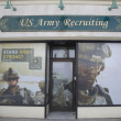 图库照片: U.S. Army Recruiting Station in Lynbrook, New York