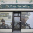 Stock Photo: U.S. Army Recruiting Station in Lynbrook, New York