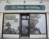 U.S. Army Recruiting Station in Lynbrook, New York — Stock Photo