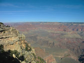 Viewing platform at the Great Canyon — Stock Photo