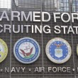 Stock Photo: U.S. Armed Forces Recruiting Station in Times Square, New York