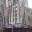 Постер, плакат: New York City landmark Radio City Music Hall in Rockefeller Center