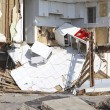 Destroyed beach houses in the aftermath of Hurricane Sandy — Stock Photo #40495679