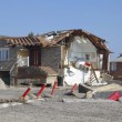 Destroyed beach houses in the aftermath of Hurricane Sandy — Stockfoto #40495689