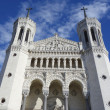 Basilicof Notre-Dame de Fourviere in Lyon — Stock Photo #40497139