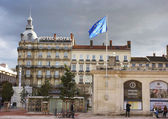 Hotel Royal and Only Lyon information center in Lyon — Stock Photo