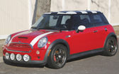 Mini Cooper Hardtop car — Stock Photo