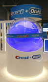 Crest Oral B booth at the Greater NY Dental Meeting in New York — Stock Photo
