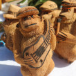 Local Souvenirs made from coconut in Punta Cana, Dominican Republic — Stock Photo #40992639