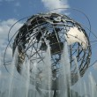 1964 New York World's Fair Unisphere in Flushing Meadows Park, New York — Foto Stock #41184993