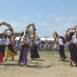 Stock Photo: KetchuDancers at New York City Pow Wow in Brooklyn