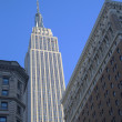 Photo: Empire State Building close up in New York