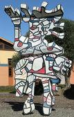 Clos Pegase winery in Napa Valley — Stock Photo