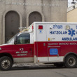 Hatzolah volunteer ambulance in Brooklyn, New York — Stock Photo #41296451