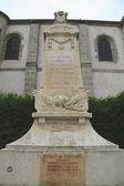 World War I monument in Pommard, France — Stock Photo
