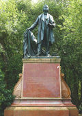 Thomas Starr King Monument in Golden Gate Park in San Francisco — Stock Photo
